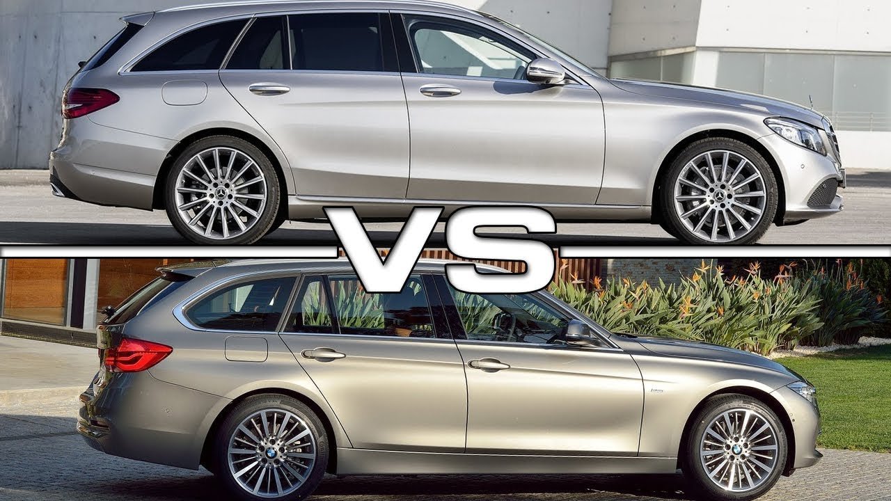 2019 Mercedes C Class Estate Vs 2018 Bmw 3 Series Touring