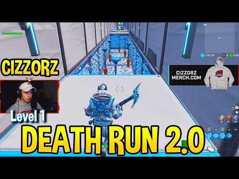 CIZZORZ DEATHRUN 2.0 *IMPOSSIBLE* OBSTACLE COURSE (Level 1-10)