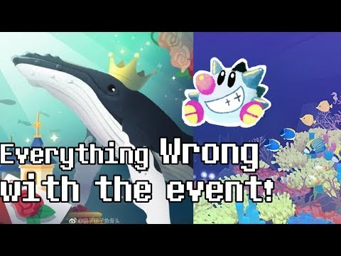 Tap Tap Fish - Abyssrium: 2nd Anniversary Event: Everything Wrong With The Event