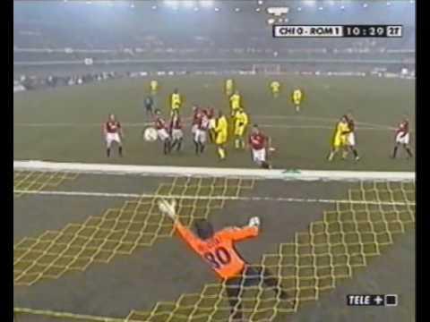 2001/02 ChievoVerona-Roma 0-3 Highlights