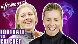 Cricket or Football?! | Carly Telford vs. Heather Knight | Continental Tyres Performance Challenge