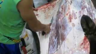 tagum slaughter skinning/legs removal