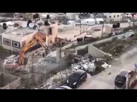 Israel demolishes Palestinian property in Jerusalem