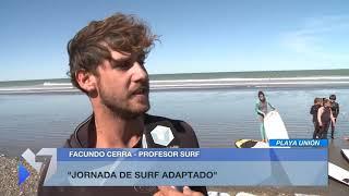 Surf Adaptado en Playa Unión