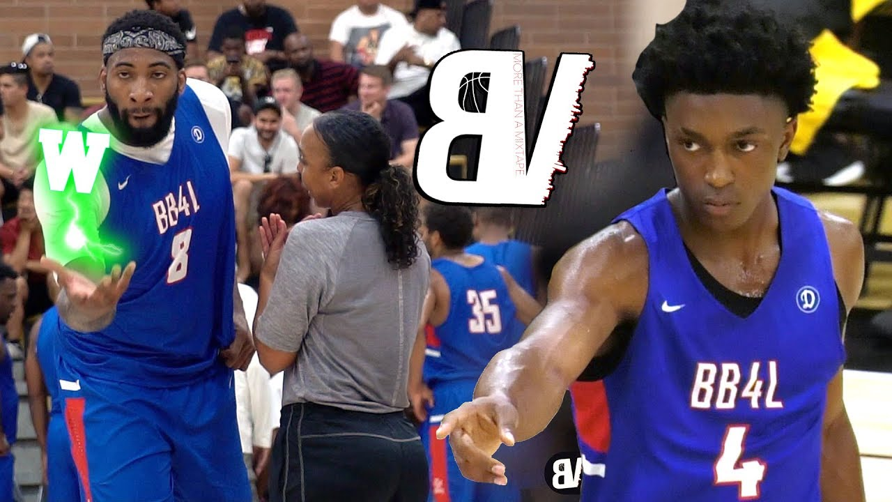 andre-drummond-shows-up-late-to-drew-league-dominates-with-stanley-johnson-detroit-pistons-duo