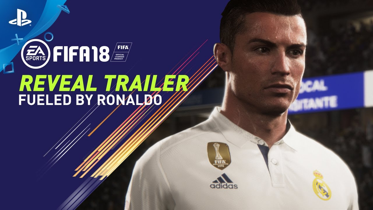Fifa  Fueled By Ronaldo Reveal Trailer Ps Ps