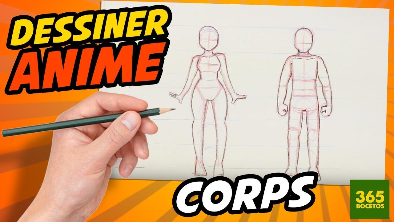 comment dessiner anime comment dessiner corps manga pas pas youtube. Black Bedroom Furniture Sets. Home Design Ideas