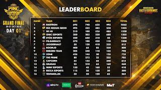 PUBG Mobile Indonesia National Championship (PINC) - DAY 1 @Britama Arena 20-21 Oktober