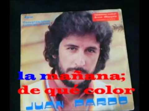 De que color es el viento Juan Pardo Karaoke