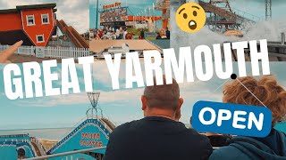 Great Yarmouth Seafront Attractions FULL Tour