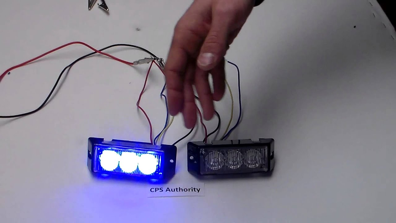 t3 surface module wiring demo by cps authority emergency warning lights [ 1280 x 720 Pixel ]