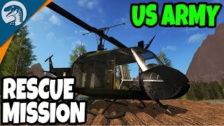 NEW HELICOPTER, US ARMY SEARCH & RESCUE | Farming Simulator 17 Multiplayer Gameplay