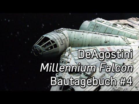 DeAgostini Millennium Falcon-Bautagebuch #4 – Ein kurzer Halt im Cargo Hold
