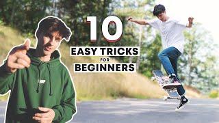 10 EASY LONGBOARD TRÏCKS FOR BEGINNERS
