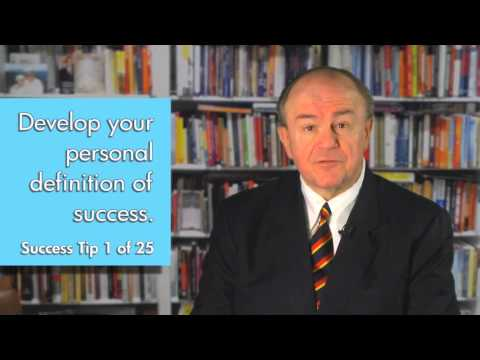 a personal definition of success There is only one real way to define success just one granted success in business and in life means different things to different people, and.