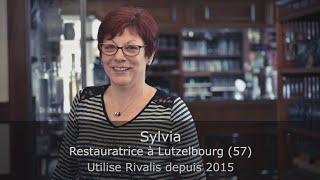Témoignage Clients Rivalis - Sylvia - Restauratrice
