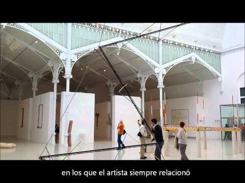 Exposición Luciano Fabro, Palacio de Velázquez el Retiro.