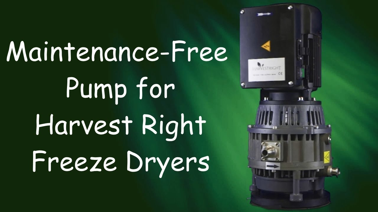 Oil Less Maintenance Free Pump For Harvest Right Freeze