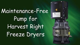 Oil-Less, Maintenance-Free Pump for Harvest Right  Freeze Dryers - The Eagle