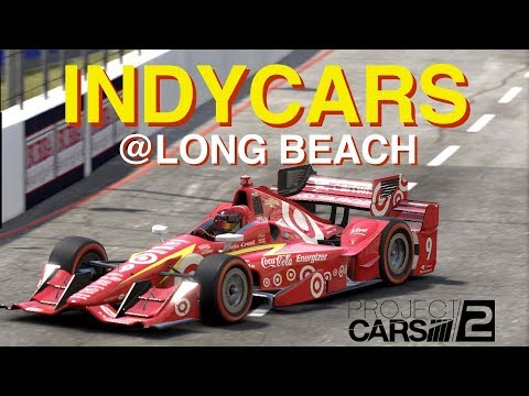 [VR] Dallara IR-12 Indycars @ Long Beach 🇺🇸 in Project CARS 2. Oculus Gameplay.