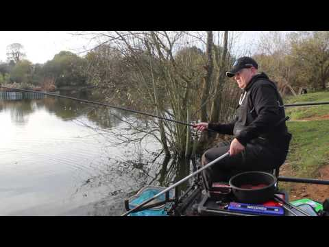 Winter carp fishing on the Response M90 pole - Browns Angling - Preston Innovations - Alders Farm