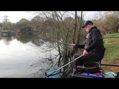 Winter Carp Fishing On The Response M90 Pole - Browns Angling - Preston Innovations - Alders Farm
