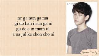 EXO-K - Baby (Easy Lyrics)
