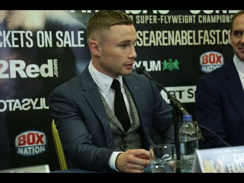 Carl Frampton returns to Belfast and signs with Frank Warren - full press conference
