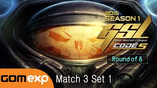 INnoVation vs Life TvZ Code S Ro8 Match 3 Set 1, 2015 GSL Season 1 - StarCraft 2