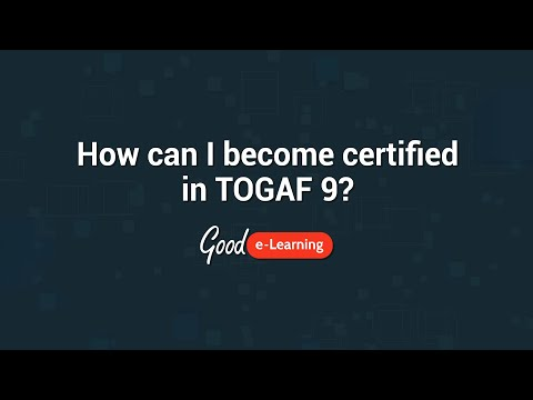 An Introduction to Good e-Learning's TOGAF 9 Foundation Course