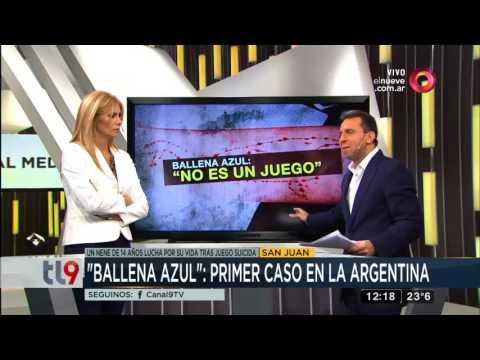 """""""Ballena azul"""", NO es un juego: primer caso en la Argentina"""