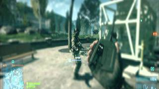Battlefield 3 beta funny scarecrow walk