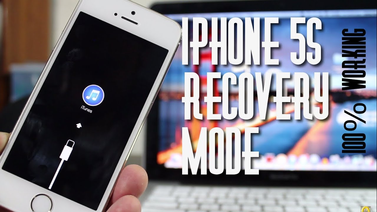 How to Put iPhone 5s in Recovery / Restore Mode