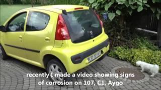 Schweller Reparaturblech Rechts Citroen C1 Peugeot 107 Toyota Aygo 2005-2012