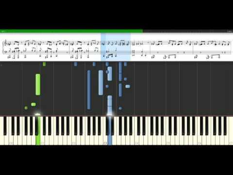 Destinys Child - Independant Women [Piano Tutorial] Synthesia