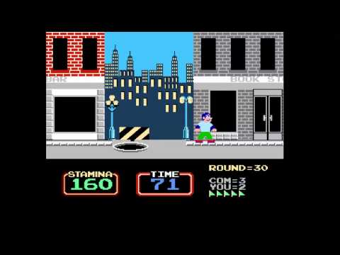 I Learn There is No Glory in Becoming the Urban Champion (NES)