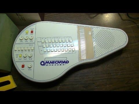 Cyborg Synth Discovers Feelings - Suzuki Omnichord OM-27 Repair & DEMO