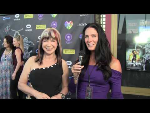 Traci Lynn Cowan with Actress and Martial Arts Champion Cynthia Rothrock.