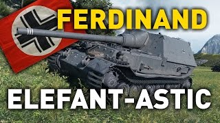 World of Tanks || Ferdinand - Elefant-astic