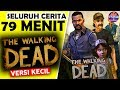Seluruh Alur Cerita The Walking Dead Hanya 79 MENIT - Kisah CLEMENTINE KECIL & Game Zombie Terbaik !