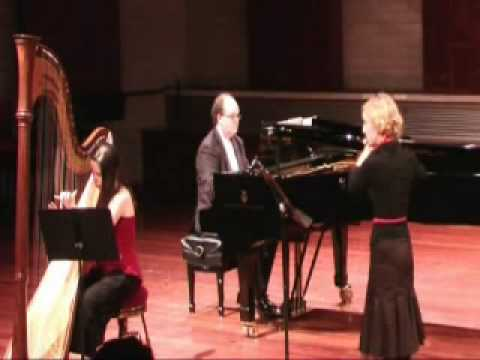 mozart harp and flute concerto,1st movement, WAAPA