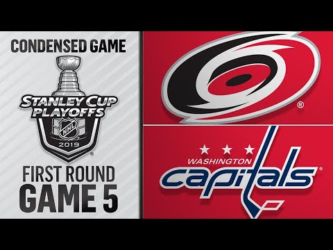 04/20/19 First Round, Gm5: Hurricanes @ Capitals