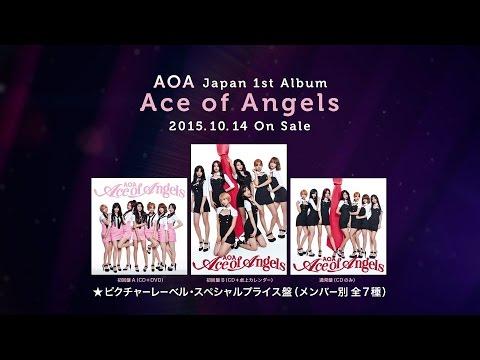 AOA Japan 1st Album『Ace of Angels』~New Tracks Mash-Up  TEASER