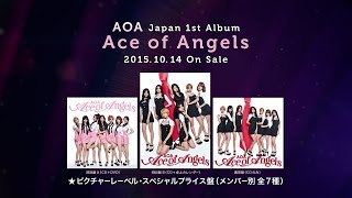 AOA Japan 1st Album『Ace of Angels』~New Tracks Mash-Up  TEASER