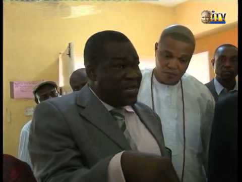 EDHA (APC) Committee on Health visits Central Hospital in Benin
