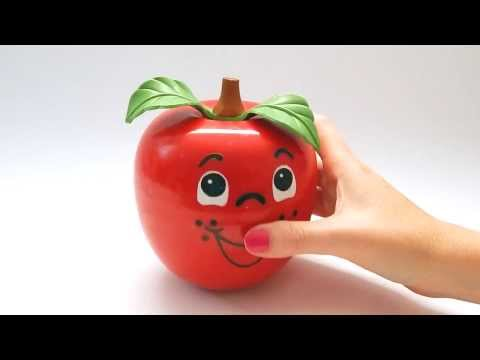 Happy Apple Vintage Fisher Price Toy