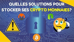 COMMENT STOCKER SES CRYPTO MONNAIES 🤓