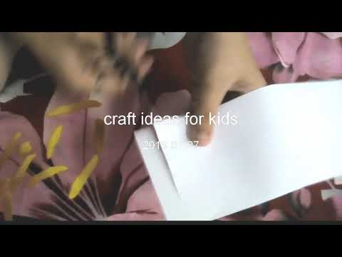 how to make chinese paper lantern/craft ideas for kids