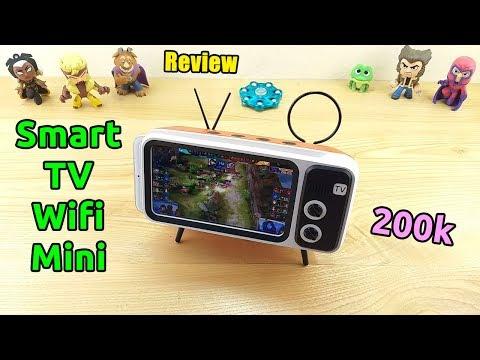 [11.11] Mở Hộp Smart TV Mini Giá 300k Trên Lazada