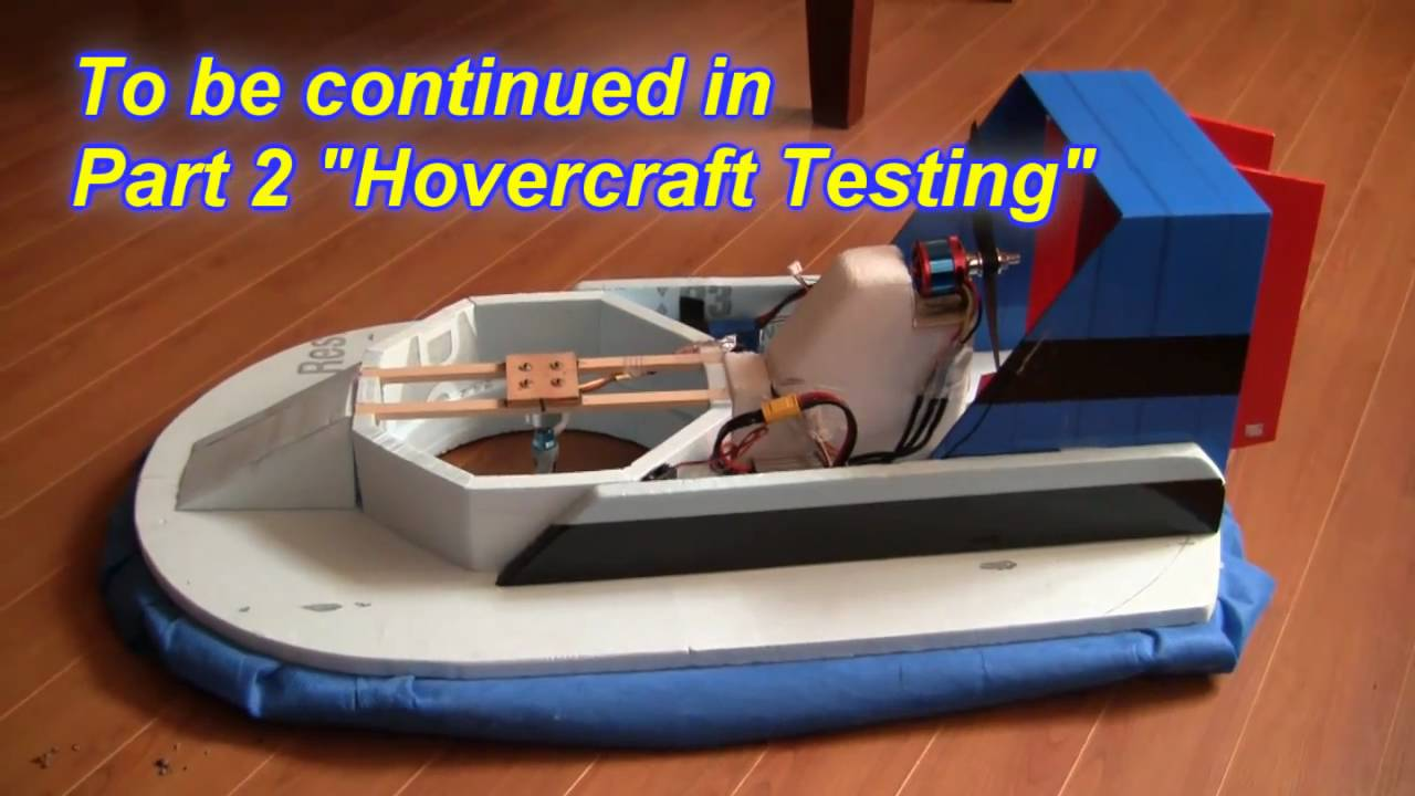 Rc hovercraft part 1 building an rc hovercraft youtube solutioingenieria Image collections